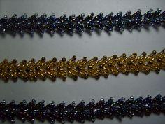 MK Petersburg chain (my MC) | biser.info - picture tute ~ Seed Bead Tutorials
