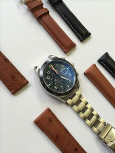 Which strap would you choose for this Classic Cosmonaut? We're making the choice slightly easier for all of our customers by offering you a second strap free with every Fortis watch purchased. Bracelet Watch, Watches, Classic, Free, Derby, Wristwatches, Clocks, Classic Books