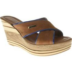Women's Azura Outburst Brown/Blue Leather