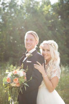Rustic Bohemian Wedding, Girls Dresses, Flower Girl Dresses, Our Wedding, Crown, Wedding Dresses, Flowers, Summer, Fashion