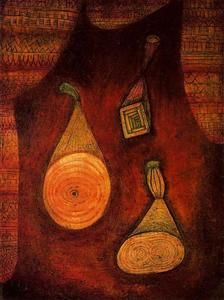 Paul Klee - Omega 5 (Attrappen)
