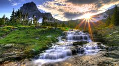 photos of nature | stream, river, scene, stream, sun, water