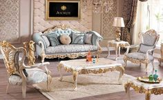 Esella classic sofa set different color size and fabric options Luxury Home Furniture, Home Decor Furniture, Sofa Furniture, Wooden Sofa Designs, Sofa Set Designs, Living Room Furniture Layout, Living Room Sets, Turkish Furniture, Sofa Layout