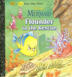The Little Mermaid Flounder To The Rescue