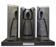 Juicy Salif - Philippe Starck - 1998 Moule en trois parties du presse agrume en aluminium.