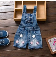 Cheap girls denim jumpsuit, Buy Quality summer girls jumpsuits directly from China girl jeans jumpsuit Suppliers: 2017 SPRING Summer US Style Girl Jumpsuit Cute Sweet Fashion Washed Jeans Denim Romper Jumpsuits Straps Short Pants Cowboy Blue Girls Denim Shorts, Denim Romper, Denim Jumpsuit, Denim Overalls, Girls Jeans, Denim Jeans, Dungarees, Jumpsuits For Girls, Girls Rompers
