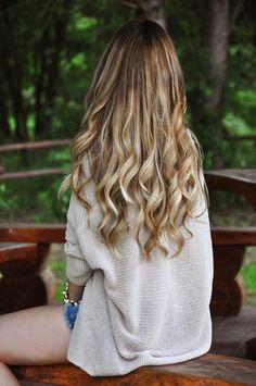 pretty wavy hair