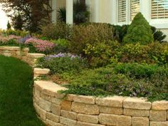 landscaping etaining walls   Landscape Design Pictures - Retaining Wall   ALL-N-1 Landscape ...