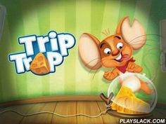 Trip Trap  Android Game - playslack.com , a funny game, where a tiny rodent Chedder needs to accumulate all cheese and to get to the mink.