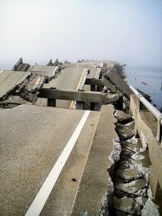 2005 Hurricane Katrina Bridges collapsed during the storm, isolating people in New Orleans.