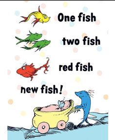 1000 images about dr seuss on pinterest dr seuss for One fish two fish printable