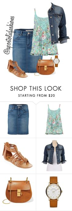 """""""Apostolic Fashions #1253"""" by apostolicfashions on Polyvore featuring Wrangler, M&Co, Arizona, maurices, Chloé and Marc Jacobs"""