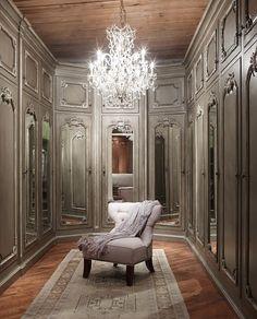 The ultimate closet! #interiordesign #luxury #fashion