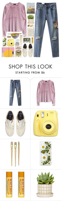 """down down down"" by rosemarykate ❤ liked on Polyvore featuring Jack Wills, Fujifilm, Keen Footwear and Burt's Bees"