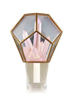 Crystal Terrarium Nightlight Wallflowers Fragrance Plug
