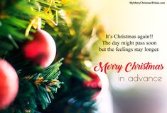 Our wait is over now and we are ready to celebrate for Christmas 2017.  #merrychristmas #advancechristmas #advancechristmaswishes #advancemerrychristmas #merryxmasinadvance #quotes #wishes #2017