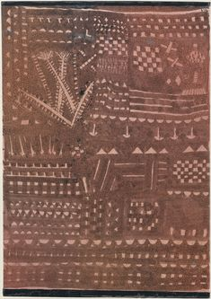 Paul Klee | In the Manner of a Leather Tapestry | The Met