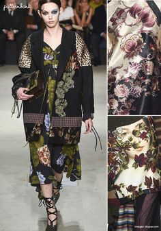 Antonio Marras – Fall 2017 – RTW – Milan Fashion Week – Print & Pattern Highlight | Patternbank