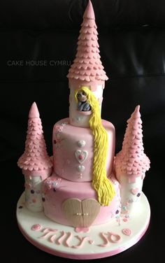 #Rapunzel Cake
