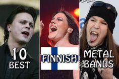 10 Best Finnish Metal Bands