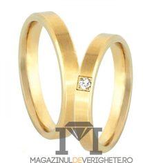 Verighete aur galben 3mmMDV1270 aur galben #verighete #verighete3mm #verigheteaur #verigheteaurgalben #magazinuldeverighete Aur, 50 Euro, Wedding Rings, Engagement Rings, Bracelets, Gold, Jewelry, Crystal, Diamond