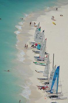 Aruba sailing.