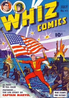 Whiz Comics Issue # 44 (Captain Marvel) 1940