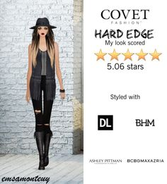 Hard Edge @covetfashion #covet #covetfashion #covetfashionapp #fashion #covetfall2015 #fall2015 #womensfashion #edgy #hardedge #RebeccaMinkoff #DL1961 #BCBGMAXAZRIA #AshleyPittman #SarahjCurtis