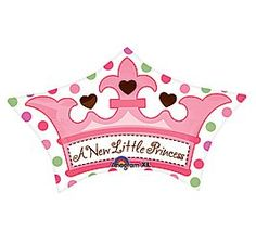 Anagram International Little Princess Crown 24 by 15 Multicolor -- Want to know more, click on the image.