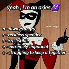 Zodiac Signs Chart, Aries Zodiac Facts, Aries Astrology, Aries Sign, Aries Horoscope, Aries And Scorpio, Aries Funny, Zodiac Funny, Zodiac Memes