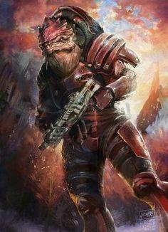 Mass Effect - Urdnot Wrex.