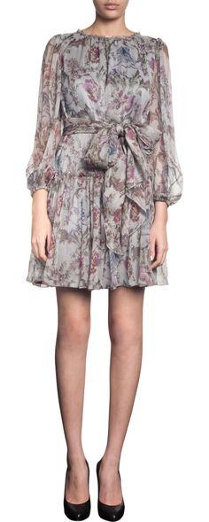 Dolce & Gabbana FW2012 Tapestry Print Waist Tie Dress. $1525