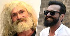 9 Consejos para tener la mejor barba de espartano. Einstein, Mens Sunglasses, Perfume, Mens Fashion, Macho Alfa, Style, Barber, Internet, Men Fashion