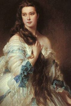 Marie Duplessis,  She was the inspiration for Marguerite Gautier, the main character of La Dame aux Camélias by Alexandre Dumas