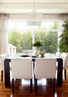 7 idées pour aménager la salle à manger   CHEZ SOI Photo: © TVA Publications   Yves Lefebvre #deco #salleamanger #amenagement