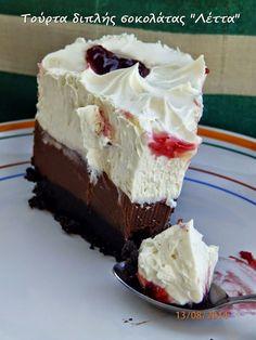 η σοκολατένια αμαρτία που μένει αξέχαστηΠόσο γρήγορα νομίζετε ότι μπορούμε να σκαρώσουμε μια τούρτα; Ερώτηση κι αυτή!!! Όταν είσαι νέος ή άπειρος στην κουζίνα το πρώτο που σκέφτεσαι είναι : τούρτα και Cookbook Recipes, Cake Recipes, Dessert Recipes, Cooking Recipes, Cake Cookies, Cupcake Cakes, Cupcakes, Greek Recipes, No Bake Desserts