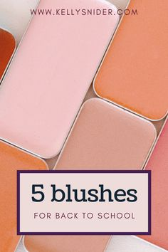 Looking for a way to update your makeup look as we head back to school? These are the top 5 shades of blush for the end of summer, back to school season! Give your makeup look an update as we approach the end of one season and the beginning of fall. These are the top makeup trends for blush that will help you create both a look for a night out and also work for the natural makeup look. A simple way to switch up your makeup for back to school. Natural Makeup Looks, Natural Looks, Makeup Brands, Makeup Tips, Berry Lips, Maskcara Beauty, Healthy Mind And Body, Balanced Life, Nude Lip