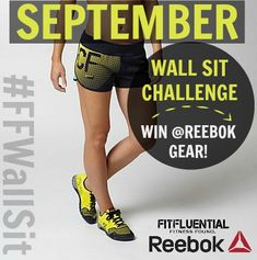 Wall Sit Challenge Fitness on Pinterest |...