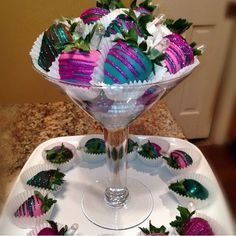 decorative covered strawberries - Google Search