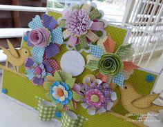 Flower Power by Emma Craftwork Cards, Flower Power, Diy Crafts, 3d, Flowers, Blog, Make Your Own, Blogging, Homemade