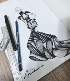 Fashion Design Books, Fashion Design Sketchbook, Fashion Design Drawings, Barbie Fashion Sketches, Fashion Model Sketch, Fashion Figure Drawing, Fashion Drawing Dresses, Fashion Illustration Collage, Fashion Illustration Dresses