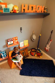 Domestic Charm: Cute toddler boy room!