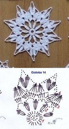 Best 12 Miniature crochet round doily cm dollhouse by MiniGio Crochet Snowflake Pattern, Crochet Stars, Christmas Crochet Patterns, Holiday Crochet, Crochet Snowflakes, Crochet Doily Patterns, Thread Crochet, Crochet Flowers, Crochet Stitches
