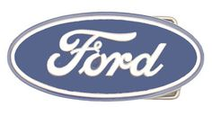 Ford Belt Buckle Oval Corporate LogosCar LogosFord Motor CompanyHenry