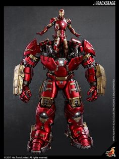 Hot Toys Releases Update On Scale Age Of Ultron Iron Man Hulkbuster Figure Marvel And Dc Superheroes, Marvel Art, Marvel Heroes, Disney Marvel, Iron Man Suit, Iron Man Armor, Marvel Universe, Iron Man Fan Art, Iron Man Hulkbuster