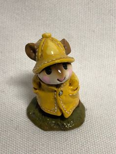 Wee Forest Folk April Showers M-180 Yellow