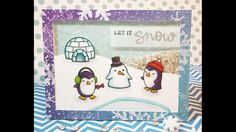 12 Days of Christmas Cards - Day 12: Let It Snow Shaker