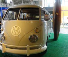 Original 1966 bus at Monterey    Totally beautiful! Get Hot Bug Shop  www.vw-bugshop.com