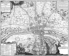 Plan de Paris 1180 - Chronologic old maps of Paris — Wikimedia Commons Map Paris, Paris France Travel, France Map, Ville France, Paris City, Vintage Maps, Antique Maps, Vintage Coloring Books, Ile Saint Louis