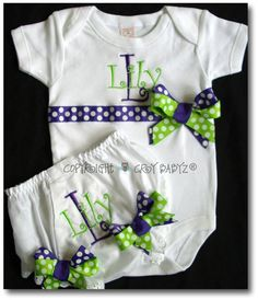 First Birthday Outfit Personalized Embroidered by Crybabyz on Etsy, $38.95